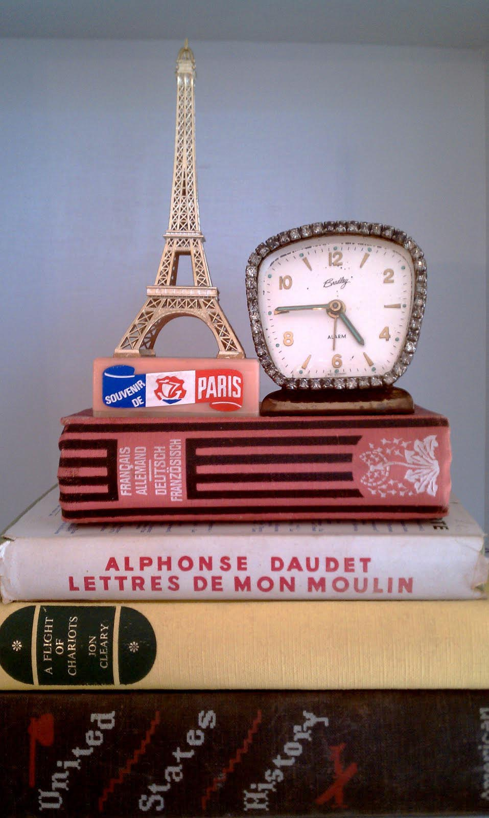 Vintage paris for girls room