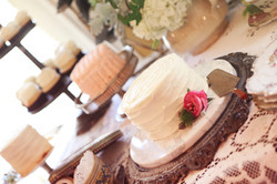 Vintage Cake Plate and Server