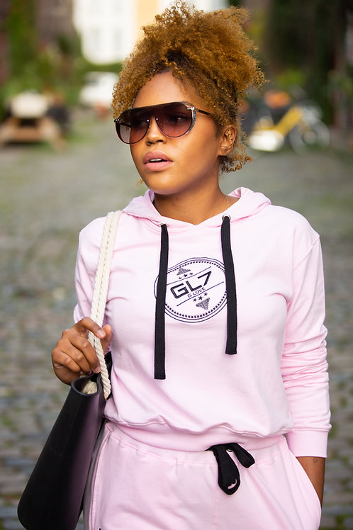 Pink Tracksuit Top