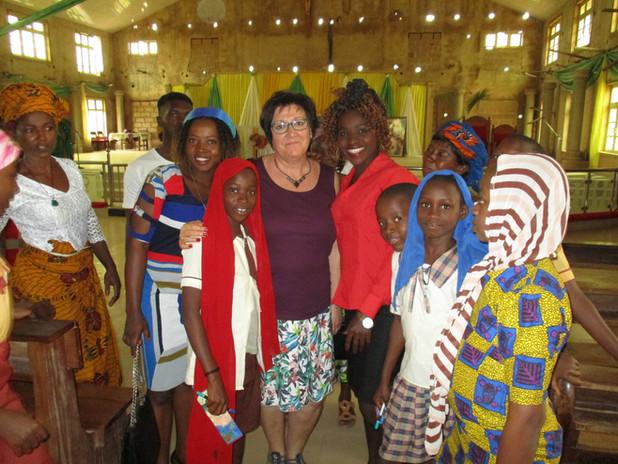 Die Freude und Dankbarkeit war überwältigend und alle hatten sichtlichen Spaß bei dem Treffen in der Kirche St. Joseph Okpatu.