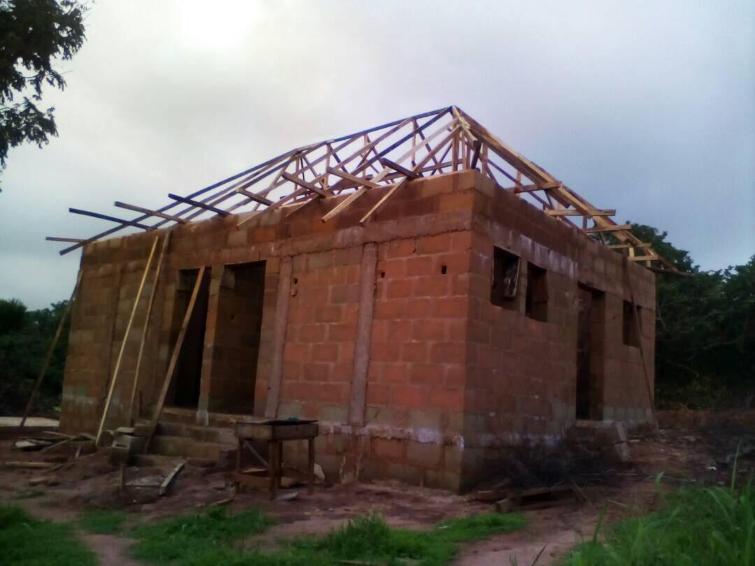 Der Rohbau wurde ebenfalls wie alle Arbeiten von lokalen Arbeitern durchgeführt.