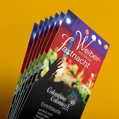 Weiberfastnacht - Eintrittskarte