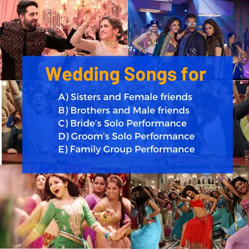 51 Bollywood Wedding Songs For Indian Weddings In 2021