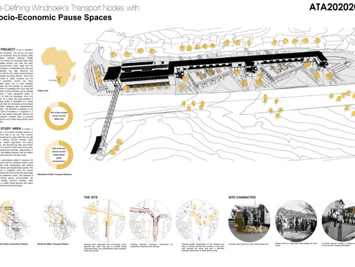 RE-DEFINING WINDHOEK'S TRANSPORT NODES WITH SOCIO-ECONOMIC PAUSE SPACES - NAMIBIA