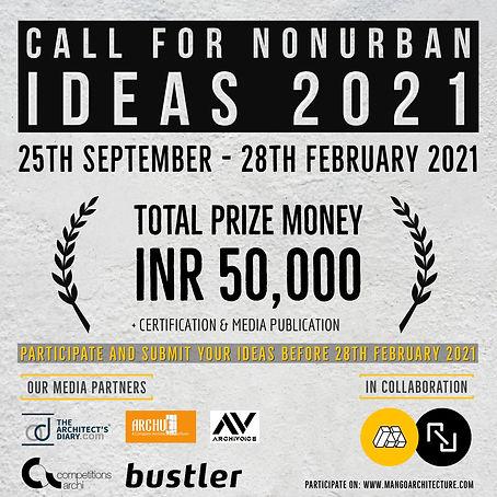 Call For NonUrban Ideas-2021