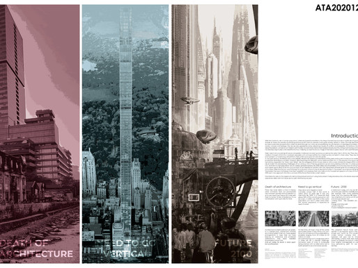RE-BIRTH OF ARCHITECTURE : VERTICAL NEIGHBOURHOOD : 2100