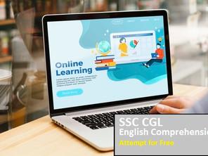 SSC CGL 'English Comprehension' 13th June 2018 shift-III