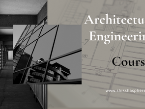 Architecture Engineering Courses in India