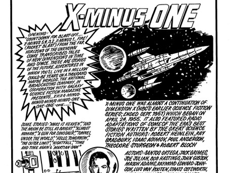 Dimension-X Gets A Revival…Well Sort Of.