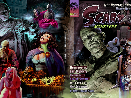 Unwrap Scary Monsters #121