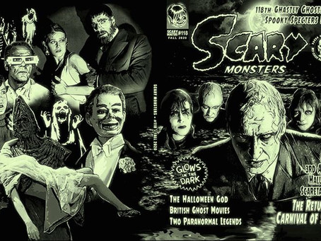 Scary Monsters #118 Ghastly Ghosts & Spooky Specters