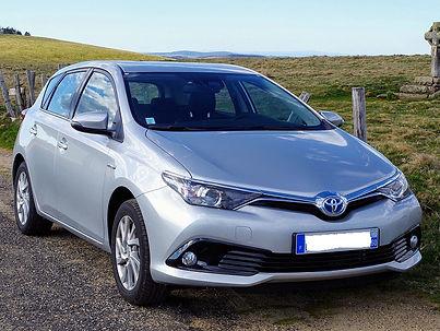 Toyota Auris hybride E85