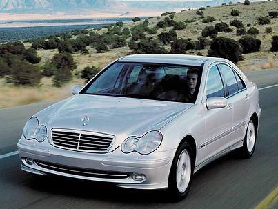 Mercedes W203 E85