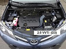 2.0 VVTI - 151 cv