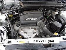 2.0 VVTI - 150 cv