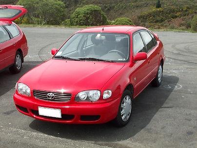 Toyota Corolla 7 et 8 E85