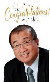 Congratulation to Prof Teh Bin Tean