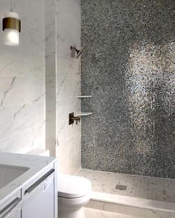 AFTER: sparkling bath tile
