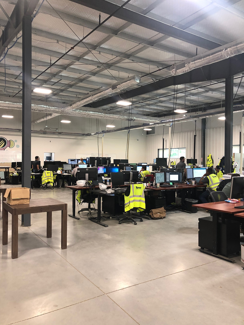 Inside Facebook construction offices in New Albany, Ohio