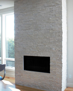 AFTER: Fireplace