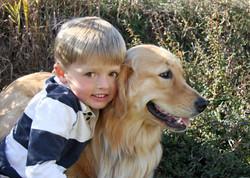 A Boy And His Daisy Dog