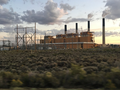 Powerful Cell Signal at Wyoming Power Plant