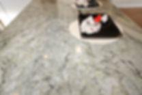 Beautiful granite countertop