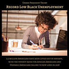 RecordLowBlackUnemployment1-TrumpSuccess