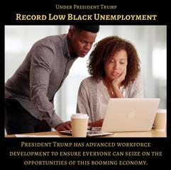 RecordLowBlackUnemployment2-TrumpSuccess