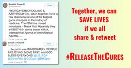 #ReleaseTheCures-Hydroxychloroquine+Azit
