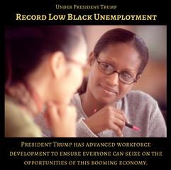 RecordLowBlackUnemployment3-TrumpSuccess