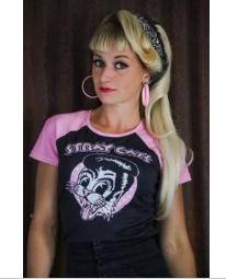 T-Shirt STRAY CATS ( Femme )