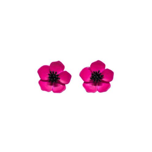 Boucles d'oreilles PETUNIA FLOWER , Rockabilly , Pin-Up , Vintage