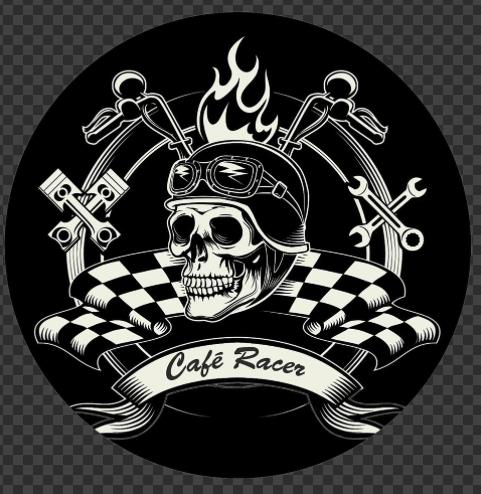 Sticker Café Racers