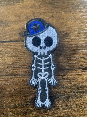 Patch Lady ou Boys Skull