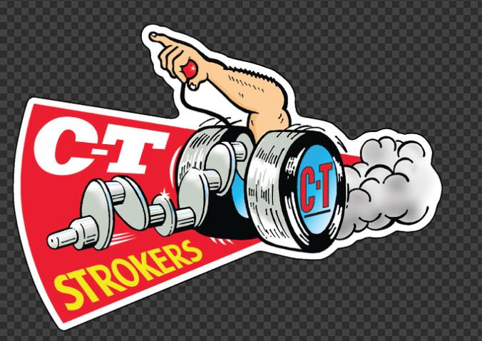 Sticker C-T STROKERS