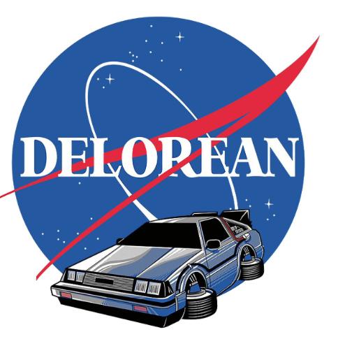 Sticker DELOREAN