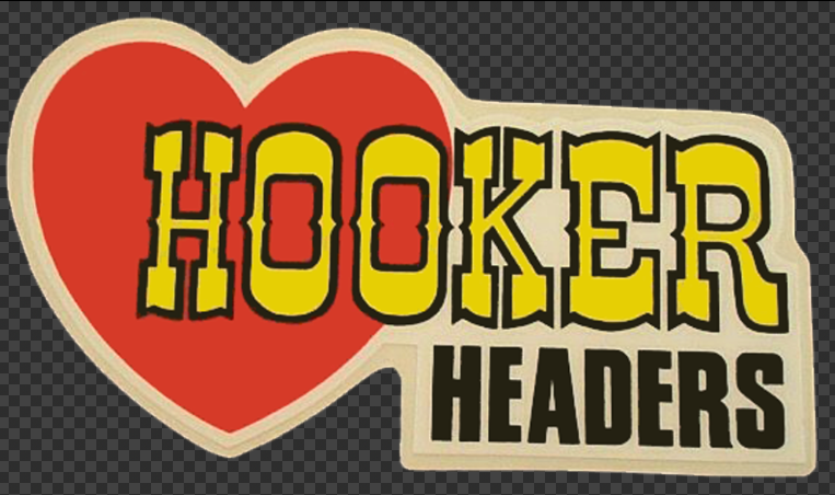 Sticker HOOKER HEADERS