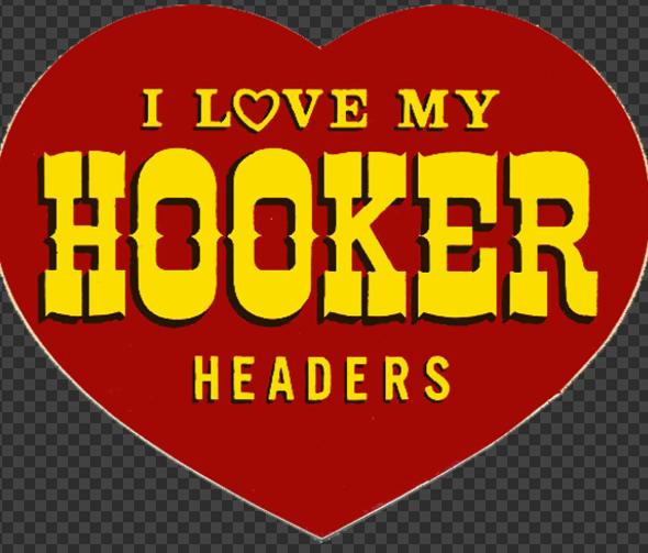 Sticker HOOKER