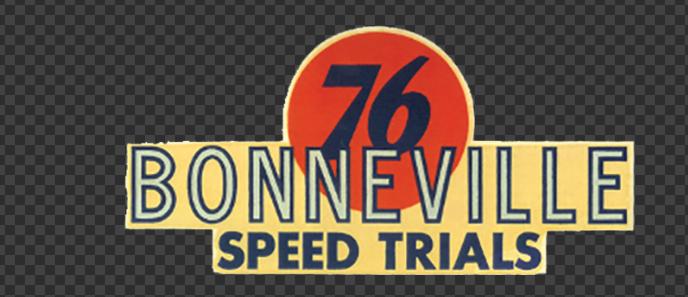 Sticker BONNEVILLE 76