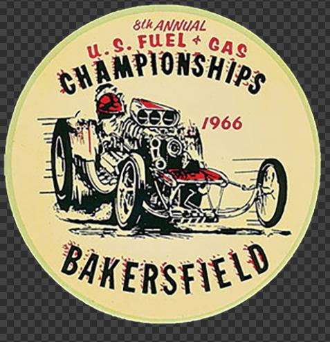 Sticker BAKERSFIELD