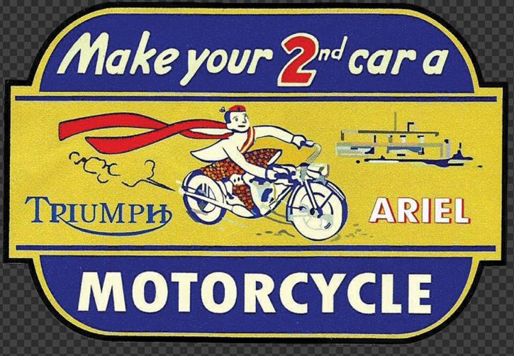 Sticker TRIUMPH ARIEL