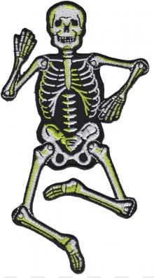 Patch Sourpuss Dancing Skeleton
