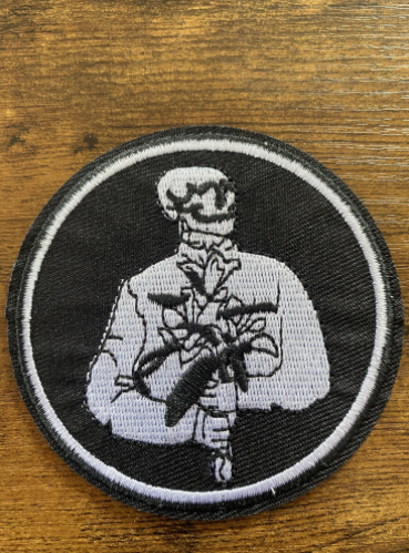 Patch Gentleman Skull