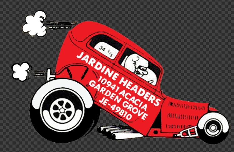 Sticker JARDINE HEADERS