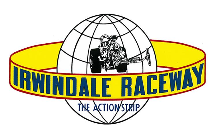 Sticker IRWINDALE RACEWAY