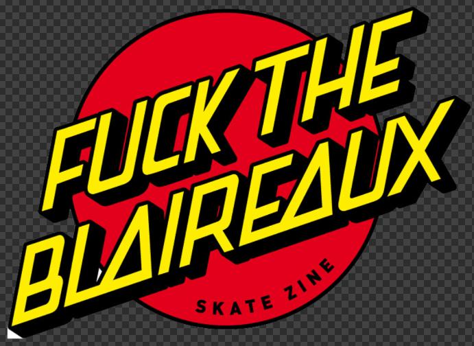 Sticker SANTA CRUZ ( Fuck the blaireaux )