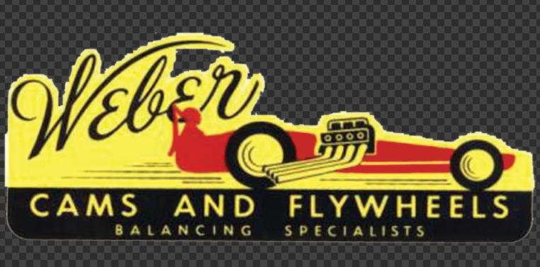 Sticker Weber Cams & Flywheels