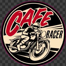 Sticker Café Racer
