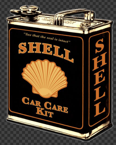 Sticker SHELL Car Care Kit